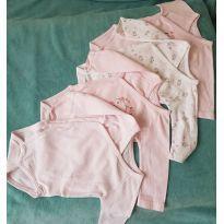 kit - 4 body kimono - 3 meses - 3 meses - Tex