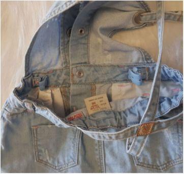 jardineira jeans 12/18 meses - 12 a 18 meses - Zara Baby