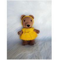 ursa amigurumi - vestido amarelo -  - Sem marca