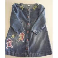Vestido Alphabeto  jeans - 2 anos - Alphabeto