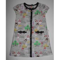 Vestido Alphabeto Nova York - 3 anos - Alphabeto