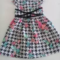 Vestido Alphabeto borboletas - 3 anos - Alphabeto