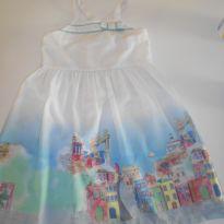 Vestido Alphabeto Salvador - 6 anos - Alphabeto