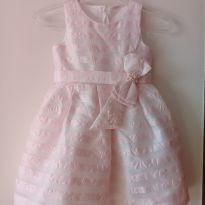 Vestido Petit Cherie rosa - 4 anos - Petit Cherie