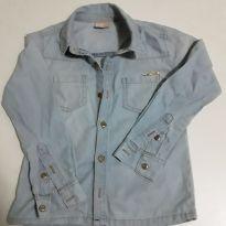 Camisa Milon jeans manga longa - 4 anos - Milon