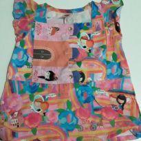 Blusa Alphabeto princesas - 4 anos - Alphabeto