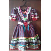 Vestido festa junina - 5 anos - Feito à mão