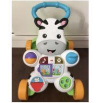 Vendo Andador Zebra Fisher Price Semi Novo -  - Fisher Price