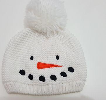 Touca boneco de neve - Sem faixa etaria - Carter`s