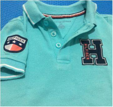 Camiseta polo tommy hilfiger - 18 a 24 meses - Tommy Hilfiger