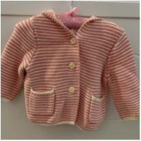 Casaco Listra - 3 a 6 meses - Baby Gap