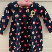 Vestido Passarinho - 9 meses - Kyly