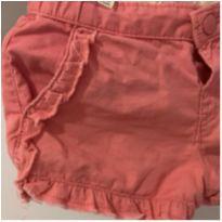 Short Rosa - 6 a 9 meses - Zara Baby