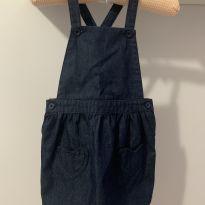 Jardineira jeans - 1 ano - Carter`s