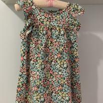 Vestido Floral - 18 meses - Carter`s