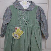 Conjunto de vestido e camisa Zig Mundi - 3 anos - ZigMundi