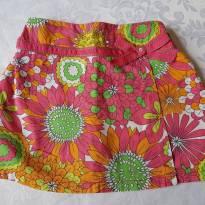 Short saia floreado Hartstrings - 4 anos - Hartstrings