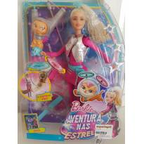 boneca barbie aventura nas estrelas com gatinho voador lacrada -  - Mattel