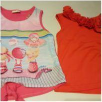 kit camisetas 8 anos menina verão - 8 anos - Tyrol e KUKIÊ