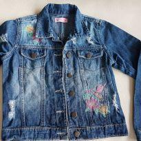 jaqueta jeans figurinha girls 8 anos - 8 anos - Figurinha
