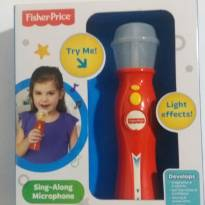 Microfone Fisher Price