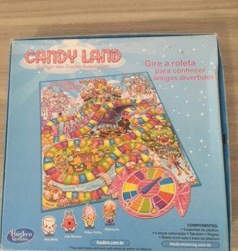 Jogo Candy Land - Sem faixa etaria - Hasbro