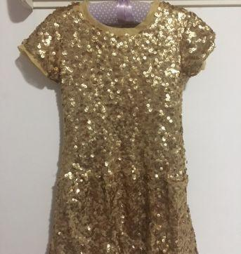 Vestido paetês - 4 anos - Fuzarka