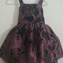 Vestido de festa luxo - 2 anos - Um mais um