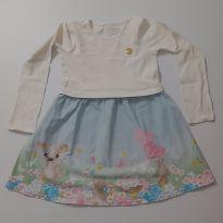 Vestido de passeio - 6 anos - Elian