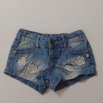 Shorts jeans com detalhes - 4 anos - Planet Kids
