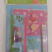 NOVIDADE! Kit escolar com 11 peças Peppa -  - Importado EUA