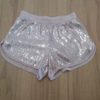 NOVIDADE! Shorts com paetês - 6 anos - Palomino