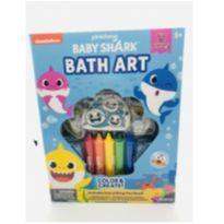 NOVIDADE! Kit de banho Baby Shark -  - Importado EUA