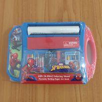 NOVIDADE! Kit de artes do Homem Aranha -  - Importado EUA