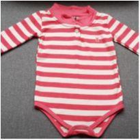 Body manga longa - 9 a 12 meses - Kiko baby