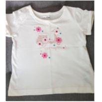 Blusa lambreta - 12 a 18 meses - Baby Gap