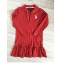 Vestido Red PRLAUREN - 6 anos - Ralph Lauren