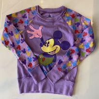 Moletom Disney Original Fashion - 7 anos - Disney