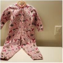 Pijama quentinho fleece raposa