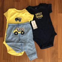 Set bodies e calça Carters - 6 a 9 meses - Carter`s