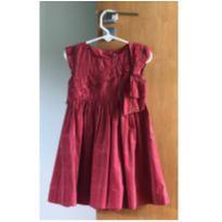 Vestido vermelho - 4 anos - Momi
