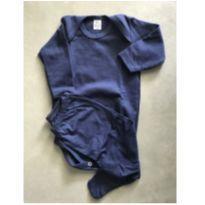 Pijaminha baby - 6 a 9 meses - Guaxi