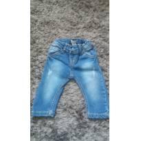 Calça Jeans Tigor Baby MB - 6 a 9 meses - Tigor Baby