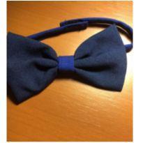 Gravata borboleta azul marinho -  - Não informada