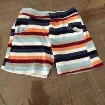 Shorts colorido - 3 a 6 meses - Não informada
