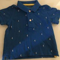 Camisa polo tommy Hilfiger - 9 a 12 meses - Tommy Hilfiger
