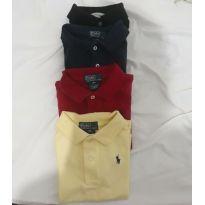 Kit camisas polo - 18 a 24 meses - Ralph Lauren e Calvin Klein