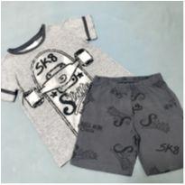 Pijama cinza - 4 anos - C&A