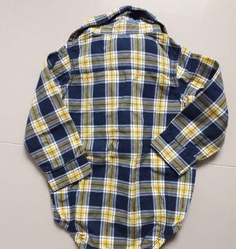 Camisa body quadriculada Carte´s - 18 meses - Carter`s