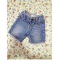 Linda bermuda jeans, veste super bem - 1 ano - Baby Club